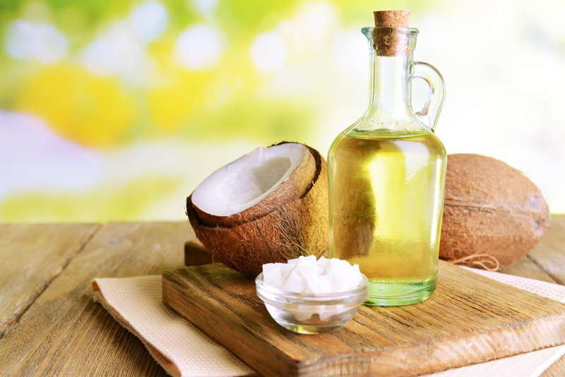 Coconut oil for pimples